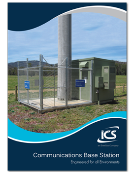 Communications Base Station Brochure Cover
