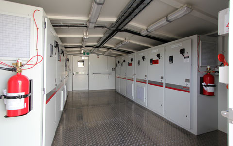 Modular Switchroom Fitout