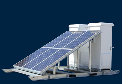 Solar Skid Transportable Power Solution