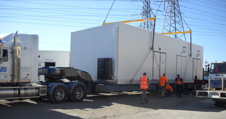 Recent Projects Transportable Equipment Buildings