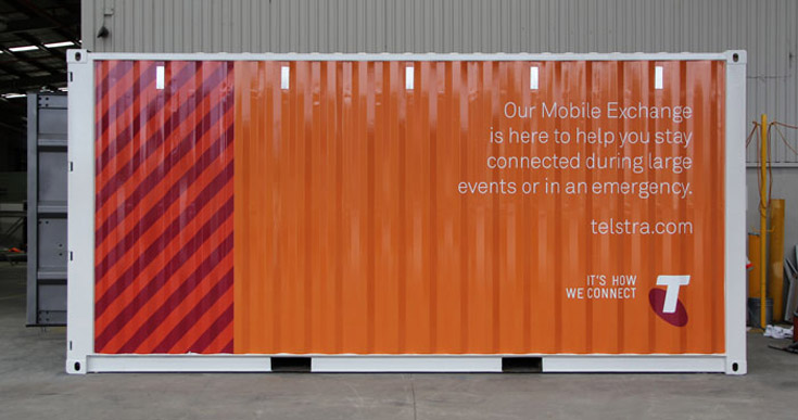 Telstra Sea Container
