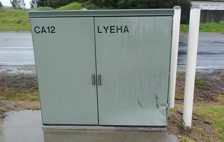 Roadside Comms Cabinet