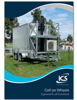 Cell on Wheels Brochure Download Cover