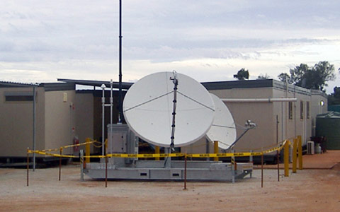 Satellite Skid on site