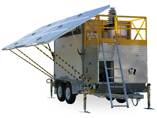 Solar Cell on Wheels (SCOW) Trailer