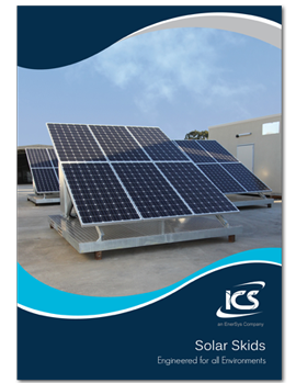 ICS Solar Skid Brochure Cover
